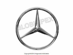 Mercedes r129 (96-01) Grille Center Star GENUINE NEW + 1 year Warranty