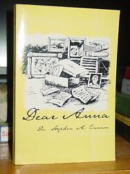 Dear Anna, Letters Journal Family's Experience Great Depression, Wwii, Vietnam