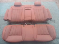 Bentley Continental Flying Spur Rear Seats Saddle
