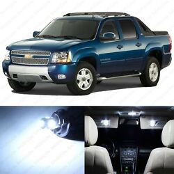 19 X Xenon White Led Interior Light Package For 2002-2006 Chevy Avalanche + Tool