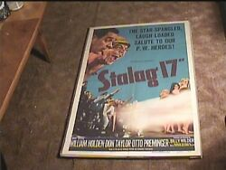 Stalag 17 A 1953 Orig Movie Poster William Holden Classic