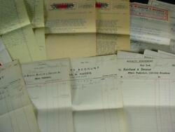 Noblespirit {3970} Famous Musician Pat Rooney Collection Of Royalty Letters