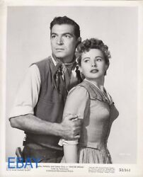 Coleen Gray Busty Stephen Mcnally Vintage Photo Apache Drums