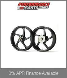 Galespeed Gp1s Curved 5 Spoke Black Forged Alloy Wheels Bmw S1000rr 2013