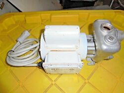Used 1010037 Dometic Pump Ss Seawater Pump Head 115/230v Continous Duty Rated