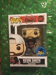 Comikaze 2017 Lacc Funko Pop Kevin Smith Fatman Signed From Hot Topic Booth Rare