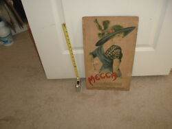 1910's Mecca Cigarettes Tobacco Large Advertisement Earl Christy Artwork T201