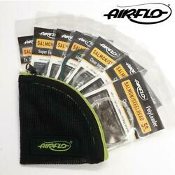 Airflo Salmon 5ft Polyleader Set 7 Polyleaders With Free Wallet