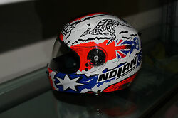 Casey Stoner Hand Signed X602 Helmet Unframed + Photo Proof And C.o.a
