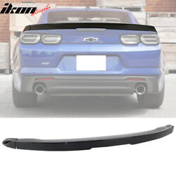 Fits 16-19 Chevy Camaro Factory Style Flush Mount 3-Piece Blade Trunk Spoiler