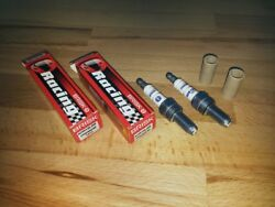 2x Brisk Aor12lgs-wc = High Performance Motor Cycle Silver Lgs Spark Plugs + Bhp