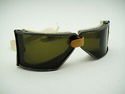 Nos American 40s 50s Advance Vintage Racer Motor Car Racing Goggles Motorcycle