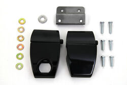 Black Premium Tour-Pak Latches For Harley-Davidson Touring 2006-2013