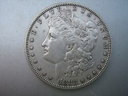 1883- S Morgan Silver Dollar 134 Years Old U. S. History Filled 's'