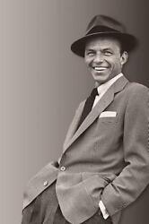 Frank Sinatra Poster Suit Fedora 24in X36in
