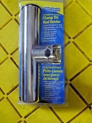 Marpac Stainless Steel Clamp On Rod Holder 7-0897