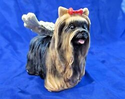 "YORKSHIRE TERRIER ANGEL Figurine ""In Memory Of Your Little Angel"""