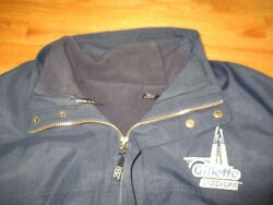 Rare Cutter And Buck New England Patriots Gillette Stadium Lg Lined Heavy Jacket