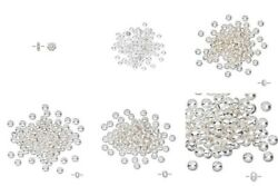 100 Bright Shiny Silver Tiny Spacer Beads Daisy Micro Rondelle Star U Pick Shape