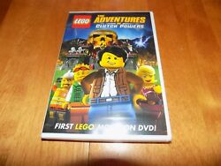 LEGO THE ADVENTURES OF CLUTCH POWERS Animated Legos Children's Movie DVD NEW