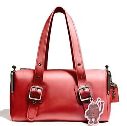 NWT Coach Keith Haring Mailbox Bag RED Spring 2018 300 made SOLD OUT HURRY