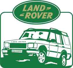 Land Rover Vinyl Sticker Decal 18 Full Color