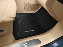 Porsche Panamera 2010 To 2011 All Weather Floor Mats Official Oem Parts