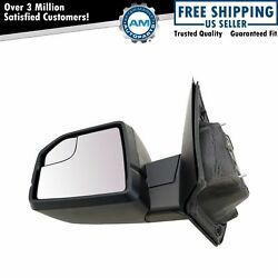 Left Mirror Power Textured Black Driver Side For 2015-2018 Ford F150