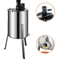 4/8 Frame Honey Extractor Electric Beekeeping Equipment Large Stainless Steel