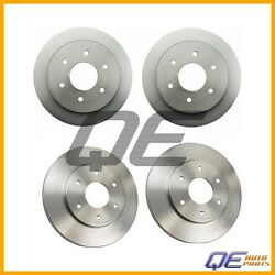 Brembo Front And Rear Complete Brake Rotors Kit For Nissan Pathfinder Armada 2004