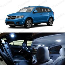 10 X White Led Interior Light Package For Dodge Journey 2009 - 2018 + Pry Tool