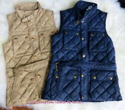 New W Tag Polo Womenand039s Grey Duck Down Vest