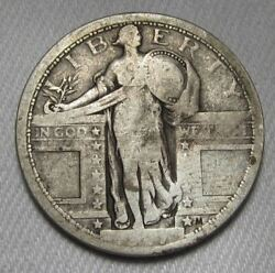1917 Type 1 Standing Liberty Quarter Ag Ad632