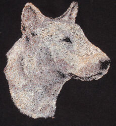 Embroidered Sweatshirt - Bull Terrier AED14969 Sizes S - XXL