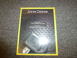 John Deere Lx 280 280aws And 289 Lawn Tractor Owner Operator Manual Omm149664