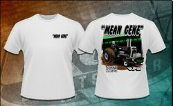 Mean Gene Tractor Pulling T-shirt Size L Oliver White Ntpa