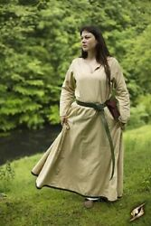 Medieval Simple Basic Dress Renaissance Larp SCA Costume Ladies