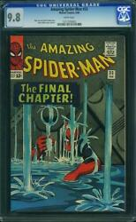 AMAZING SPIDER-MAN #33 cgc 9.8 white pages
