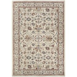 Couristan Monarch Kerman Vase Area Rug Cream/red 5and0393 X 7and0396 - Je456484053076t