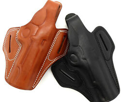 Right Hand Leather Thumb Break Belt Holster For 5 1911 - Choose Gun And Color