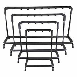 Guitar Stand 3 5 7 9 Holder Guitar Folding Rack Stand Stage Bass Acoustic Guitar
