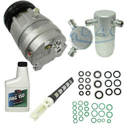 NEW AC COMPRESSOR AND COMPONENT INSTALL KIT SEE COMPATIBILITY 1110 2.4 LITER CAR