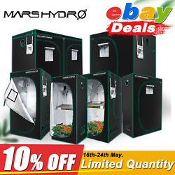 Mars Hydro Indoor 1680D Grow Tent Plant Room 100% Reflective Mylar Home Box