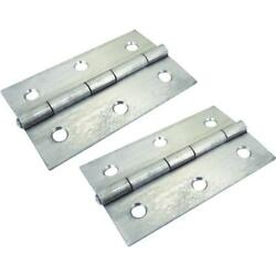 12-stainless Steel 2 X 3 Extruded Fast Pin Butt Hinge 34921