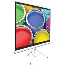 Pyle 50 Video Projector Screen Easy Fold-out Projection Display Tripod