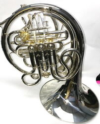 Silver Plated Alexander Style Double Bb/f French Horn Advanced Student/ Pro