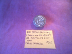 Db Dodge Brothers Genuine Vintage Oem Grease Dust Cap Cover Free Shipping