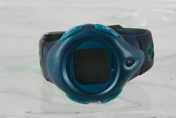 TIMEX IRON KIDS BLUE GREEN BAND DIGITAL WATCH 8223