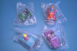 Burger King 1991 - The Archies In Pull-back Race Cars - Complete Set Of 4 Mip