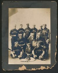 1905 Integrated Cabinet Photograph Spring Creek With Black Star Pitcher